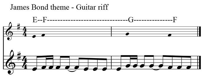 01a-Bond-theme---guitar-riff